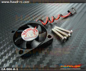 Hawk Creation ESC Cooling Fan (30*30*6mm) 5~8.4V